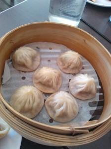 Xiaolongbao at Dickson Dumpling house.