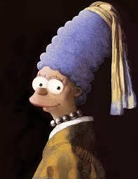 Jan Vermeer,  Girl with Pearl Necklace Earring