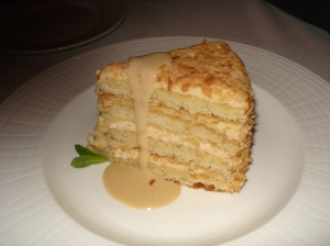 Toasted coconut layer cake. Yes, it was every bit as delicious as it looks.