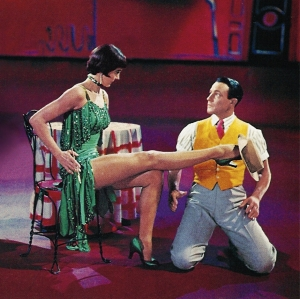 Gene Kelly and Cyd Charisse. This scene is sixty different kinds of freakishly sexy.
