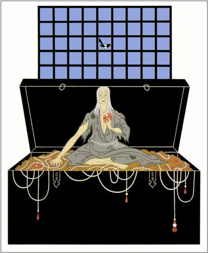 Erté, The Seven Deadly Sins Avarice