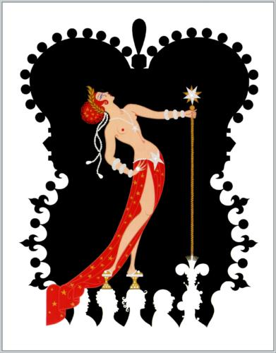 Erté, The Seven Deadly Sins: Pride